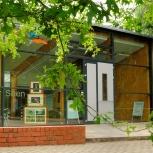 Infozentrum Krickenbecker Seen geöffnet samt Café-Ecke